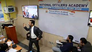 Revision Class CSS 2020 Current Affairs Lecture 2 with Sir Fareed Ullah Khan | NOA CSS