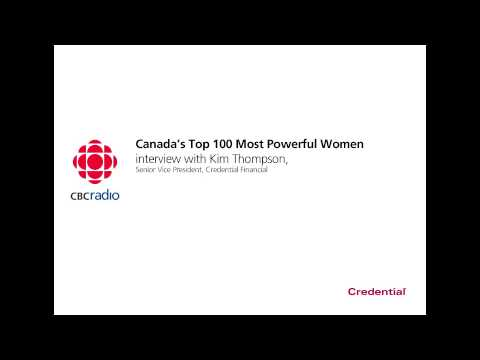 CBC Radio: Kim Thompson - Top 100 Most Powerful Women