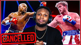 Floyd Mayweather vs Logan Paul is CANCELLED but WHY?!