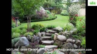 101 lối đi sân vườn đẹp - Lối đi nhà vườn - Lối đi biệt thự