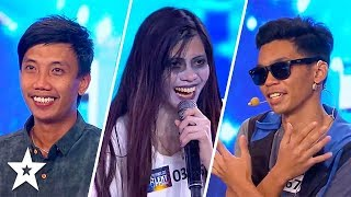 TOP 6 MOST VIEWED Auditions on Pilipinas Got Talent 2018