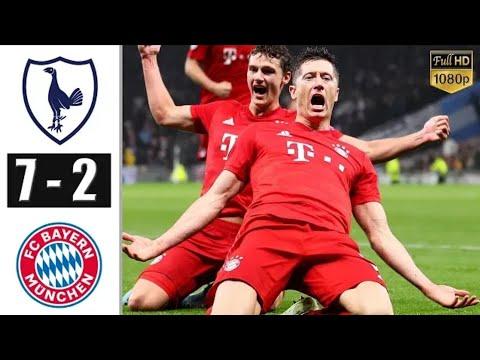 Tottenham Vs Bayern Munich 2-7 UCL Highlights 2/10/2019
