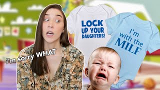 REVIEWING BABY CLOTHES THAT SHOULD NOT EXIST