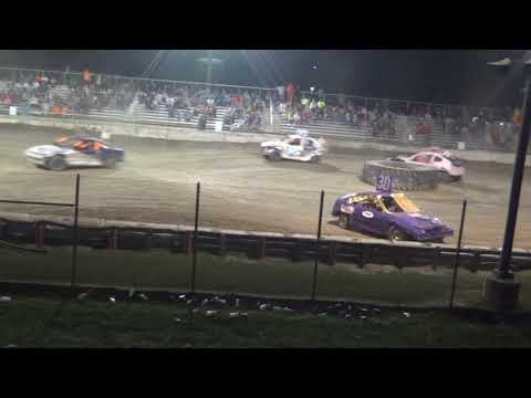 USA Figure Eight Championship 2018 (FWD cars) (A main) (Munger,Michigan)