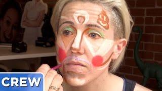 Clown Contouring Makeup Ft. Hannah Hart