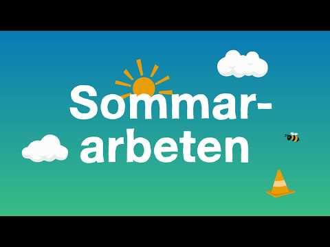 Sommararbeten i Göteborg - 2019