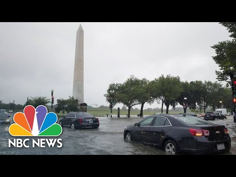 Watch: Residents Of D.C. Area Capture Extent Of Flash Flooding On Camera | NBC News