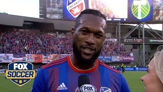 Kendall Waston on FC Cincinnati's first MLS Win | FOX SOCCER