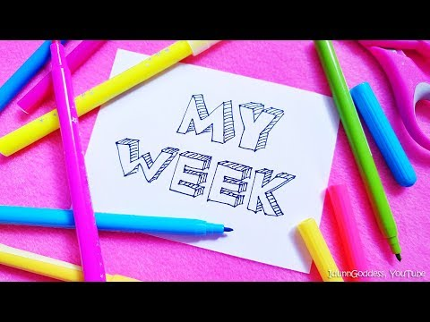 Draw My Week – Idunn (IdunnGoddess)