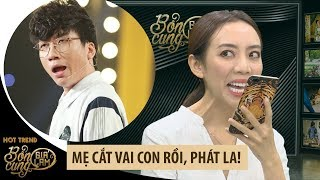 Thu Trang chơi lầy gọi điện thông báo cắt hết vai Phát La trong Bổn cung giá lâm