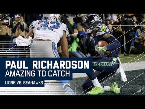 Richardson Makes Insane TD Catch After Seahawks 4th Down Stop! | NFL Wild Card Highlights