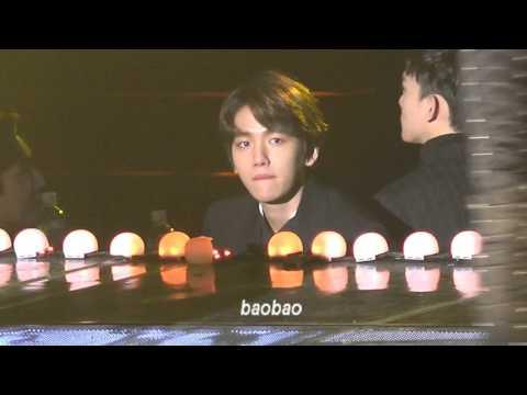 160217 EXO Baekhyun reaction to Mino