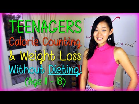 Teenagers Calorie Requirement & Weight Loss Without Dieting! (Age 11-18) - Joanna Soh  - 4ejMPDwE0yc -