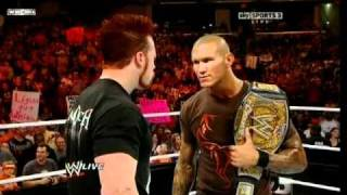 WWE Champion Randy Orton owns Sheamus