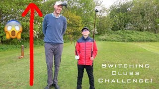 Switching Clubs with TALLEST GOLFER in the World!