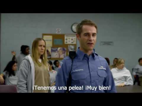 OITNB Crazy Eyes Fight (sub español),