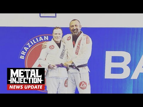 MEGADETH's Dave Mustaine Now A Purple Belt In Jiu-Jitsu | Breaking News | Metal Injection