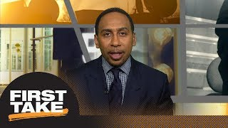 Stephen A. Smith defines success for LeBron James, Magic Johnson and the Lakers | First Take | ESPN