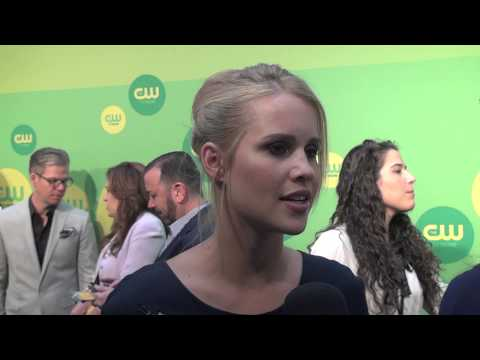 Claire Holt - The Originals - CW Upfronts 2013 - YouTube