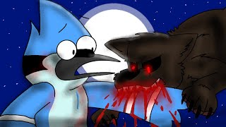 "Mordecai & Rigby turn into Werewolves! (Part 1) ""Regular Show"""