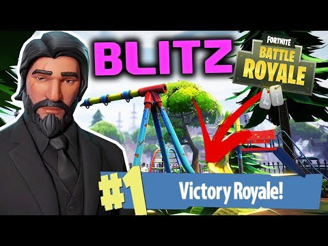 *NEW* BLITZ MODE #1 VICTORY ROYALE | FORTNITE BATTLE ROYALE