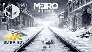 Metro Exodus 4K PC Gameplay and Hands On Impressions