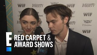 """Stranger Things"" Stars Natalia & Charlie Have An Emmys Date Night 