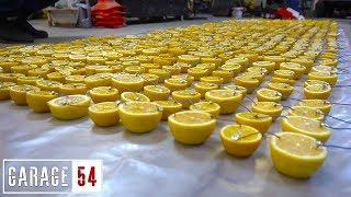 Can a battery made from 1000 lemons start a car?