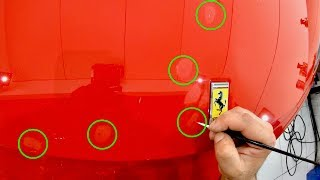 """How To Correctly """"Paint Touch-Up"""" Stone Chips On Your Car To Get The Best Results!"""