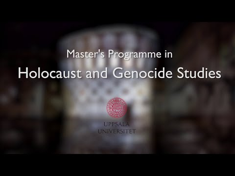 Master's Programme in Holocaust and Genocide Studies