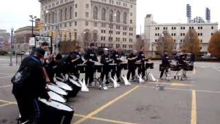 Detroit Lions Drumline November 2009