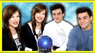 PSYCHIC READING WITH THE DOLAN TWINS