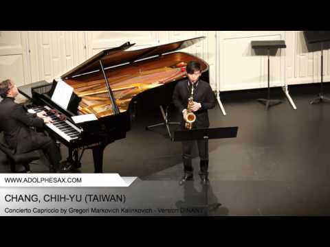 Dinant 2014 - CHANG, Chih-Yu (First Violin Sonata, BWV 1001 - Presto by J.S. Bach)