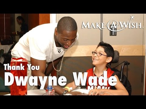Thank You, Dwyane Wade from Make-A-Wish Southern Florida