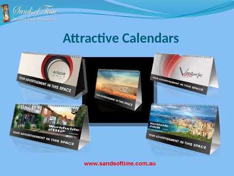 Get Custom Promotional Calendars at Sands of Time