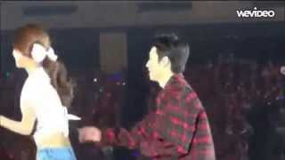 131027 Donghae Copying Sooyoung Popping Dance