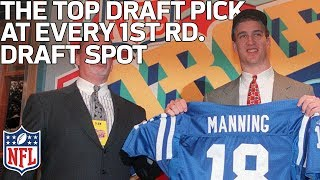 The Top Player Drafted at Every 1st Round Slot (1-32) of All-Time   NFL Draft