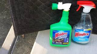 Windex Outdoor Window Cleaner Review