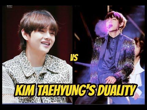 BTS KIM TAEHYUNG's DUALITY