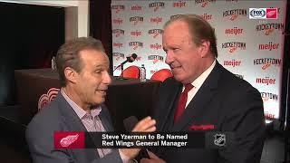 Ken Daniels chimes in on Steve Yzerman's return