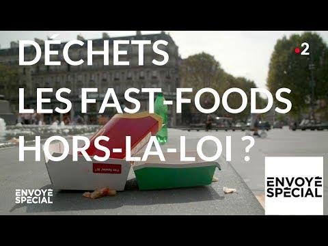 nouvel ordre mondial | Envoyé spécial. Déchets : les fast-foods hors-la-loi ? - 18 octobre 2018 (France 2)