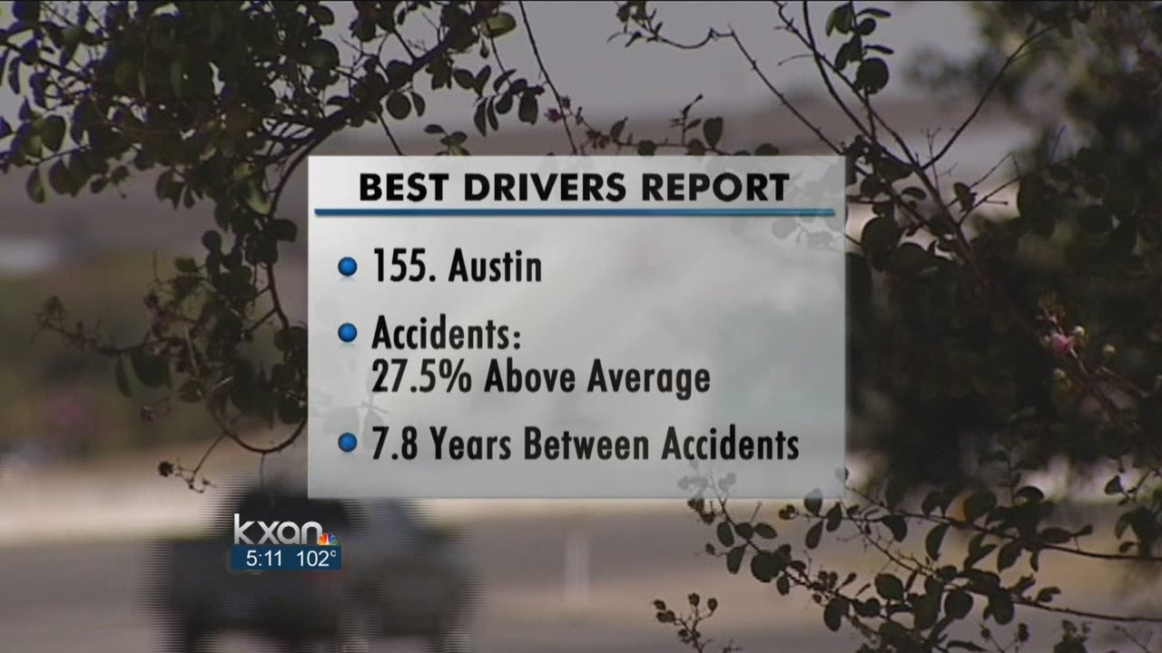 Austin Ranked Low On Best Drivers Report - Smashpipe Entertainment