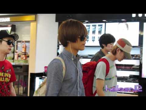 120610 SHINee Departure@Taiwan Taoyuan International Airport Part 2/2