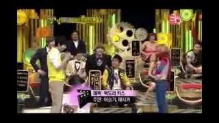 Jessica SNSD Scraft Kiss With LeeSeungGi [Cut] Strong Heart