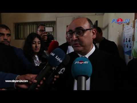 حضور نقيب المحامين في جلسة محاكمة بوعشرين السرية