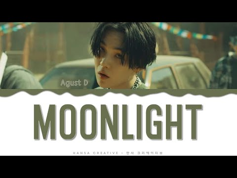 Agust D  - 'Moonlight'  Lyrics Color Coded  (HAN/ROM/ENG)