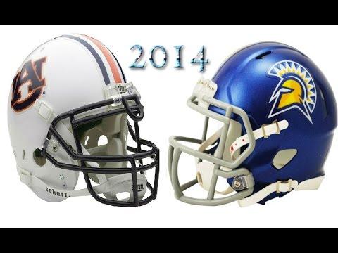 #5 Auburn vs San Jose State - 2014