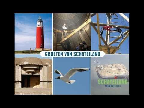 Teamdag op Schateiland IJmuiden