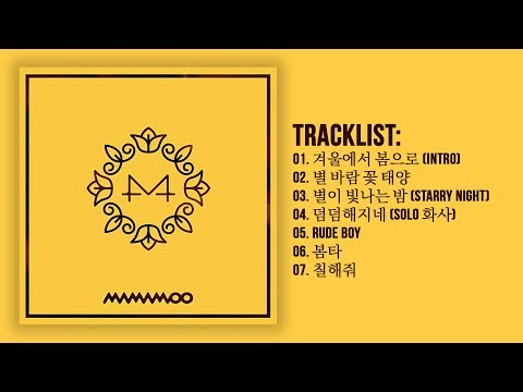 [Full Album] 마마무(MAMAMOO) - Yellow Flower (6th Mini Album)