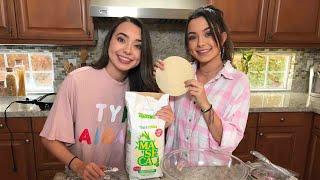 Making Tortillas - Merrell Twins Live
